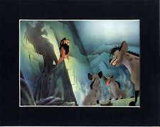 SCAR~SHENZI~BANZAI & ED~Lion King~8 x 10 Mat Print~EVIL LEADER~DISNEY VILLAIN