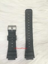 NEW 18MM FITS CASIO G-SHOCK DW-5600C/5400C/5000/SWC-05 BLACK RESIN WATCH BAND
