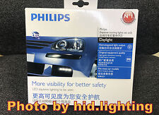 PAIR Philips 4 LED Luxeon Daylight Daytime Running Light lamp DRL4 12820WLEDX1