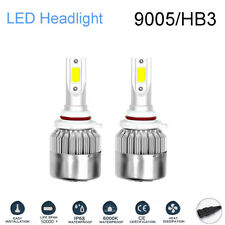2pcs 9005 LED HEADLIGHT High Power 168000LM CREE COB BULBS HIGH BEAM KIT 6500K