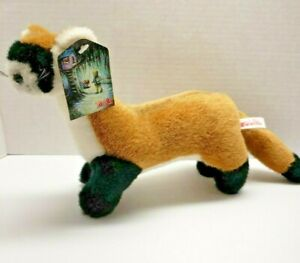 Ferret Black Footed Plush Stuffed Animal Toy By ToyBox Creations