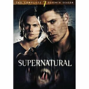 Supernatural Season 7 The Complete Seventh Year 2012 DVDs 6 Discs 10% To Charity