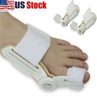 US Bunion Corrector Hammer Toe Splint Straightener Orthopedic Brace Hallux Valgu