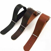 20/22mm Leather Strap Watch Band Replacement Accessory Bracelet Bangle