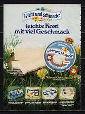 3w655/ Alte Reklame - von 1979 - Käserei CHAMPIGNON