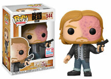 "EXCLUSIVE FCE THE WALKING DEAD BURNT DWIGHT 3.75"" POP TV VINYL FIGURE FUNKO 544"