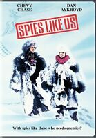 SPIES LIKE US New Sealed DVD Chevy Chase Dan Aykroyd Fullscreen