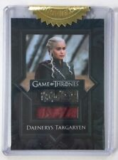 VR12 Dual Costume Card, Daenerys Targaryen Cape & Coat, Game of Thrones Season 8