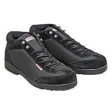 Simpson Safety Driver Equipment Shoes 56950BK Black Lightweight Pit Crew Shoe