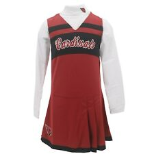 Arizona Cardinals Official NFL Kids Youth Girls Size 2 Piece Cheerleader Outfit