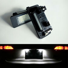 2 ECLAIRAGE PLAQUE LED VW GOLF 6 PLUS FEUX ARRIERE IMMATRICULATION BLANC XENON