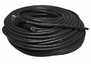 150FT 150 FT RJ45 CAT5 CAT 5 HIGH SPEED ETHERNET LAN NETWORK BLACK PATCH CABLE