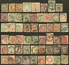 EUROPE Belgium Netherlands Italia Stamps Postage CANCELS COLLECTION 19th cent.