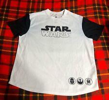 Mens Disney Parks Disneyland Star Wars Short Sleeve Shirt Yoda Rare Sz Xl