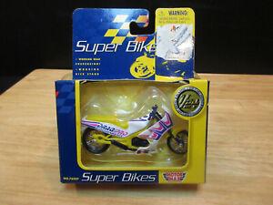 VTG. MOTOR MAX SUPER BIKES 1/24  DRAG PRO BIKE KAWASAKI - DIORAMA