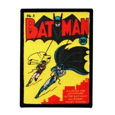 Adventures of Batman & Robin Comic Book Patch No. 1 First Issue Iron-On Applique