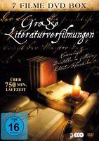 7 Littérature Klassiker Films ANNA KARÉNINE Henry V SCHULD & EXPIATION Boîte DVD