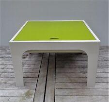 table basse, travailleuse plastique vintage Prisunic