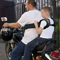 Baby Kids Motorbike Motorcycle Bike Pillion Passenger Grab Handles Safety Belt