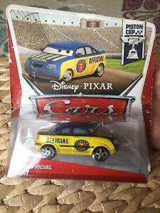 Disney Pixar Cars Tom Diecast Piston Cup Race Official Toy Car