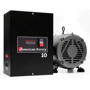 American Rotary Phase Converter AR10 - 10HP 1 to 3 Three PH Converter