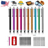 For Tablet iPhone iPad Samsung Touch Screen Capacitive Pen Stylus Universal 10PC