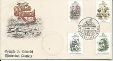 1981 Gold Rush Fdi Gympie on Embossed Gympie & District Cover Special Postmark