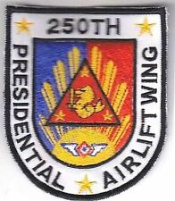Philippines Air Force PAF 250th Presidential Airlift Squadron PAS Unit Patch