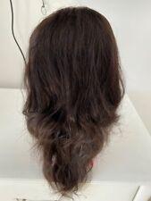 human hair lace 150 dentisy brazilian wig 14 inch natural frontal straight black