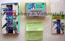 Gundam F91, Nintendo, super famicom, NTSC, JAP, super NES, Bandai, sunrise, sfc
