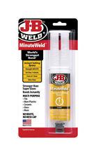 J-B Weld  MinuteWeld  Gel  Epoxy  .85 oz.