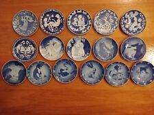 16 Royal Copenhagen Mors Dag Mothers Day Plates1972-1987 Rare later years!