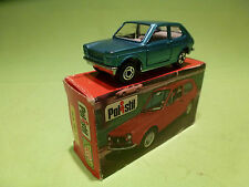 POLISTIL RJ11 FIAT 127  - BLUE METALLIC - 1:60? - GOOD CONDITION IN BOX