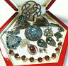 MIXED LOT VINTAGE SCOTTISH BROOCHES/BRACELET/PENDANTS/EARRINGS (Miracle)