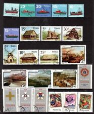 Poland Small Collection of 17 sets (73 stamps) Used