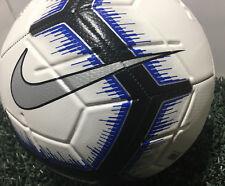 Nike Strike Soccer Ball Size- 4 White/Blue/Black / Sc3310 101