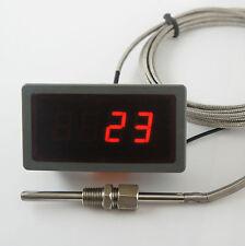 """Jauge de température des gaz d'échappement Kit 1/8 """"npt, EGT Pyromètre, gratuit soudure bonde 2m."""