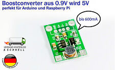 "MINI Boost converter DC-DC step-up da"" 1,2v-5v 0,5 a ""viene 5v Per Arduino DIY"