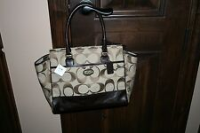 NWT Coach Legacy Candace Bag Purse Tote Carryall 21151 Brown