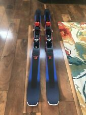 Salomon XDR 88 TI Skis (Length 165) with Warden 13 Bindings Great Condition