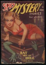 Spicy Mystery - June, 1939 - Original Pulp Magazine - NR