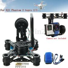 2-Axis Camera Brushless Gimbal Controller Mount+Cable For DJI Phantom2 Gopro 2/3