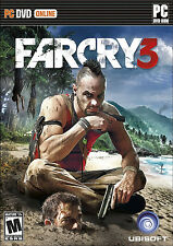Far Cry 3  PC Brand New Sealed FarCry III Windows 8/7/Vista/XP