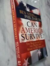 Can America Survive by Ben Stein SIGNED!  1st/1st!