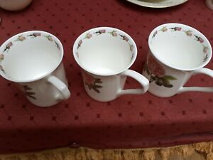 BEAUTIFUL THE RHS COLLECTION: PARSON'S ROSES (QUEEN'S) 3 MUGs