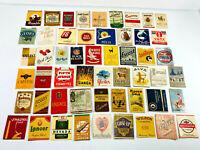 Lot HUGE (150+) Antique Vintage EMPTY Cigarette Packs cut advertising