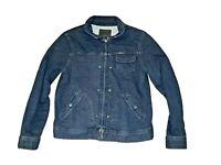 Lauren Ralph Lauren cargo utility Denim Color Jacket 87% Cotton 13% Poly Womens