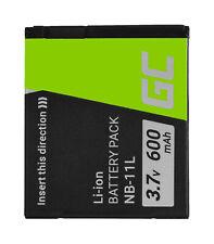 Batería NB-11L NB-11LH para Canon IXUS 125 HS 133 140 150 170 180 240 HS 600mAh