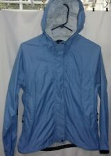 Womens size Small L.L. Bean zip up front, hooded rain jacket