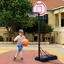Kinder Basketballständer Basketballkorb mit Ständer höhenverstellbar Rollbar
